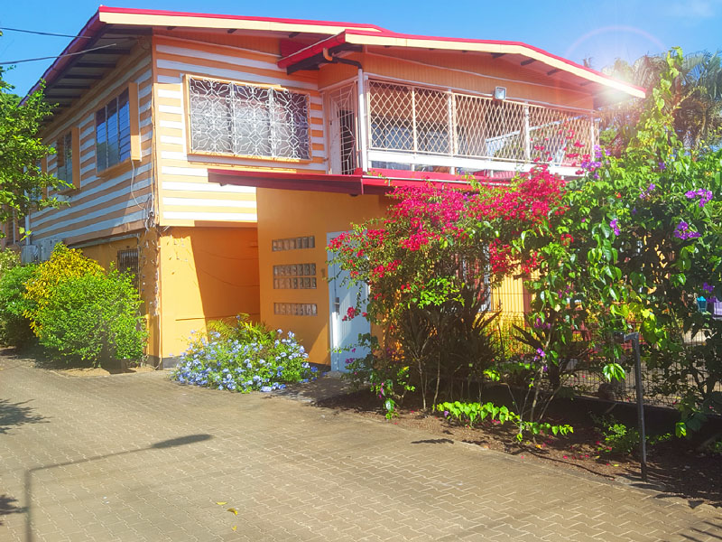 3bedroom apartment - entrance to apartmentkekemba resort paramaribo surinam suriname